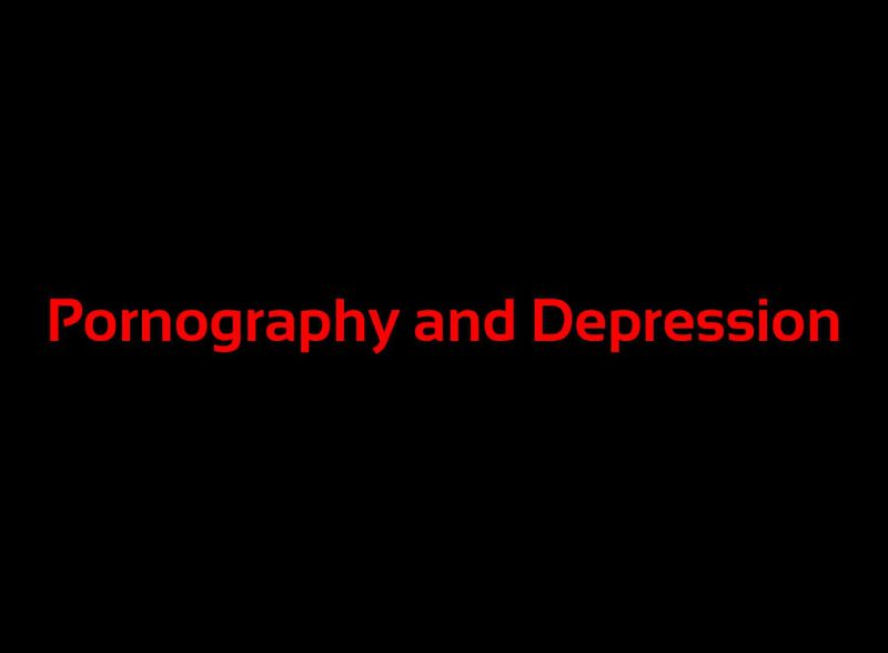pornography-and-depression